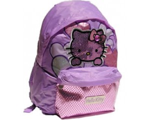 Zaino Americano Hello Kitty Chic Lilla